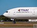 HS-TKA - 777-3D7 - Thai Airways International - Brisbane (7954762730).jpg