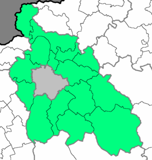 Central Hungary Region in Hungary