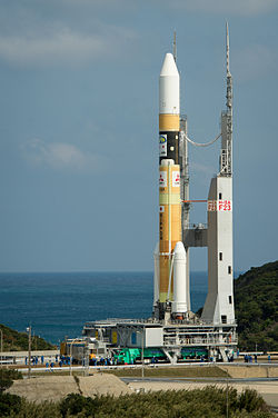 H IIA No. F23 with GPM on its way to the launchpad.jpg
