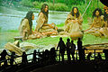 Hacking Space Participants Watch Panorama on Human Evolution - Science Exploration Hall - Science City - Kolkata 2016-03-29 3027.JPG