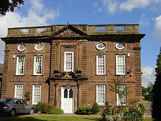 Manor House, Hale Building in Cheshire, England
