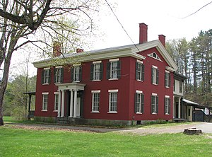 Augustus Noble Hand - Hand House in Elizabethtown, New York.