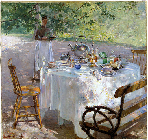 Hanna Pauli - Breakfast-Time - Google Art Project