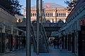 Hannover, Bahnhofstrasse beneden bij de winkels Dm IMG 4584 2018-07-01 17.57.jpg