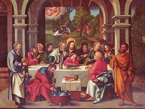 Hans Leonhard Schäufelein - Abendmahl.jpg