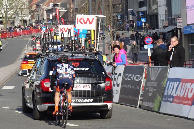 Harelbeke - Driedaagse van West-Vlaanderen, etappe 1, 7 maart 2015, aankomst (A26).JPG