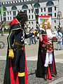Harlock & Emeraldas cosplayers at 2010 NCCBF 2010-04-18 6.JPG