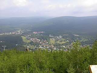 Harrachov Town in Czech Republic
