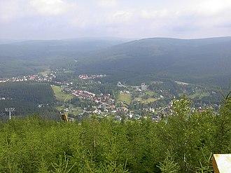 Harrachov - Panoramic view