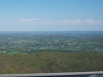 Harrogate, Tennessee - Harrogate, as viewed from Cumberland Gap