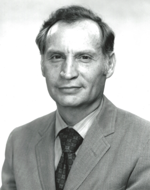 Harry Dornbrand - Photo taken of Harry Dornbrand during his time at Fairchild Space and Electronics.