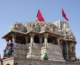 Bhima II - Image: Harshad Temple (On Hill)