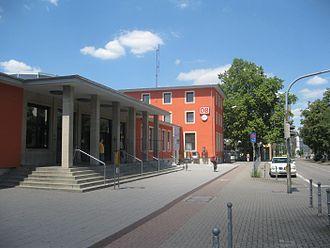 Schifferstadt–Wörth railway - Speyer Hauptbahnhof