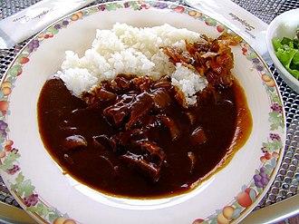 Ikuno, Hyōgo - Hayashi rice