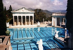 Piscine d'Hearst Castle