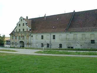 Heggbach Abbey - Heggbach Abbey, main gate