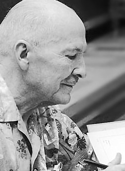 Picture of an author: Robert A. Heinlein