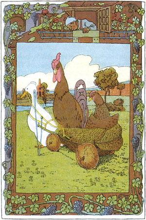 The Pack of Ragamuffins - Illustration by Heinrich Vogeler