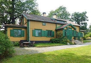 Lilla Skuggan area in Djurgården, Stockholm