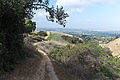 Hellman Park Whittier CA 7 Mariposa Trail view of Whittier CA.jpg