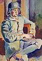 Helmuth Macke, Selbstporträt mit Stahlhelm (35219167034).jpg