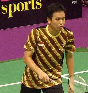 Hendra Setiawan Indonesian badminton player