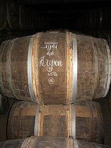 Botte contenente Cognac Hennessy 1961