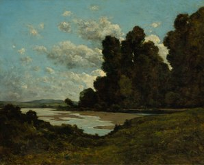 The River Loire at Nevers