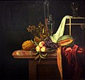 Henri de Fromantiou, Stilleven met fruit en glas, ca 1670-80 (Bonnefantenmuseum Maastricht).jpg