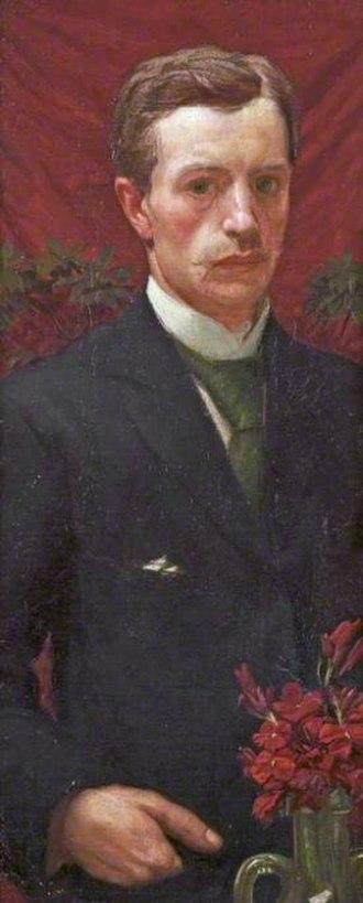 Henry Payne (artist) - Self portrait (circa 1890)