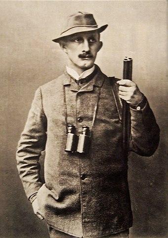 Hermann Löns ca. 1900