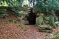 Hermit's Cave, Batsford Arboretum-geograph-4219645-by-David-P-Howard.jpg