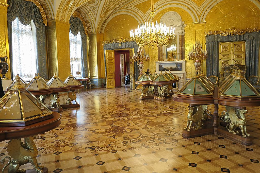Hermitage Museum Winter Palace Golden Drawing Room