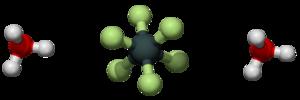 Hexafluorosilicic acid - Image: Hexafluorosilicic acid 3D