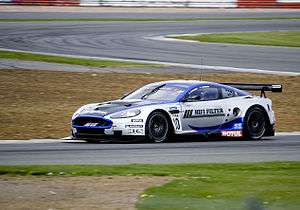 2010 FIA GT1 World Championship - The Aston Martin DBR9, a previous winner in the FIA GT Championship, has been modified to comply with the 2010 FIA GT1 regulations
