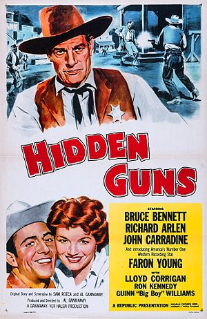 Hidden Guns - Theatrical release poster