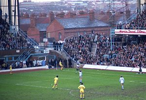 Coventry City F.C. - Coventry City playing against Oxford United at Highfield Road on 13 February 1982