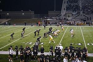 Highland Park High School (University Park, Texas) - Highland Park playing against Royse City in 2017