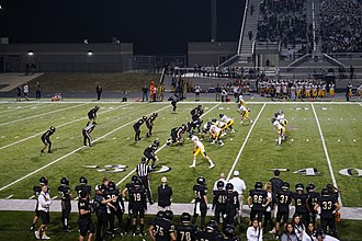Highland Park High School (University Park, Texas) - Highland Park playing against Royse City in 2017