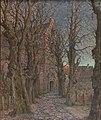Hilmar Riberholt, Indgangen til Sct. Catarinæ kirke, 1915, RKMm0592, Ribe Kunstmuseum.jpg