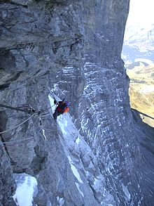 1936 Eiger north face climbing disaster & 1936 Eiger north face climbing disaster - Wikipedia