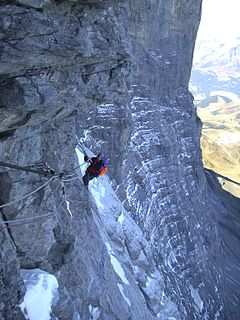 1936 Eiger north face climbing disaster