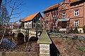 Historische Brücke vor der Wassermühle Meyersiek in Steyerberg IMG 0117.jpg