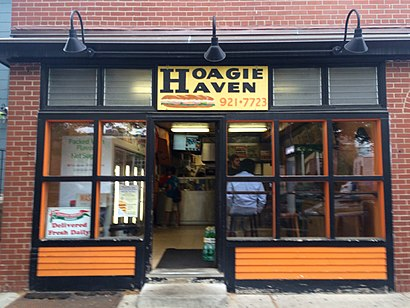 How to get to Hoagie Haven with public transit - About the place