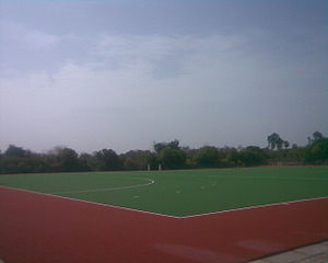 History of field hockey - Synthetic turf at Anna Stadium, Trichy