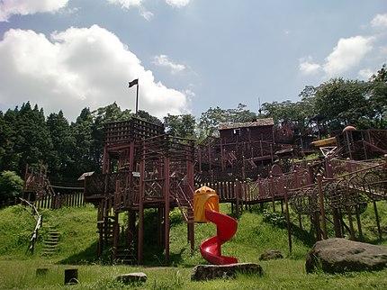 北薩広域公園の遊具