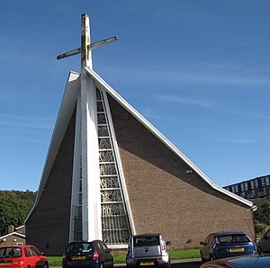 Holy Cross Church, Gleadless Valley - Holy Cross Church, Gleadless Valley, Sheffield