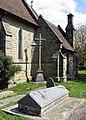 Holy Trinity, Markbeech, Kent - Churchyard gravestone - geograph.org.uk - 428534.jpg