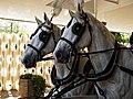 Horse drawn hearse horses City of London Cemetery 7.jpg