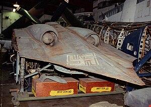 Horten Ho 229 - Rear view of Horten Ho 229 prototype